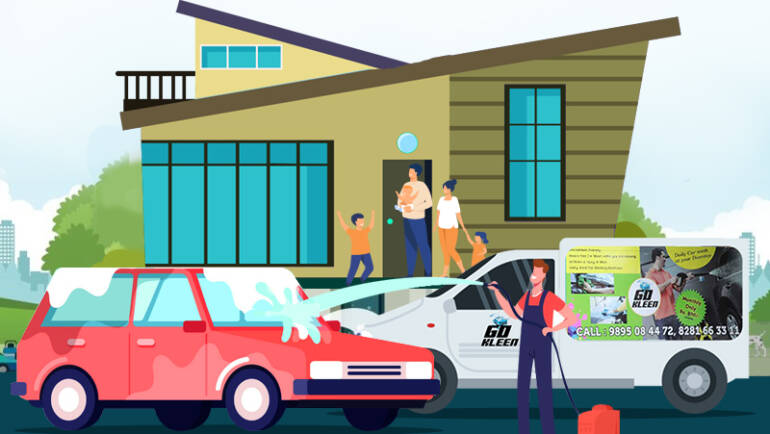 Best Car Washing Services at Your Doorstep