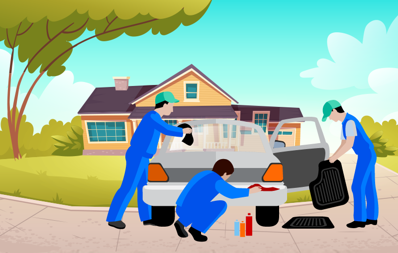 Why Doorstep Car Washing is Convenient During the Pandemic